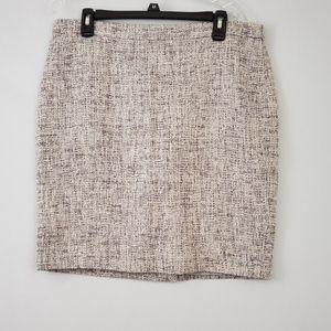 NWT Ann Taylor Tweed Pencil Skirt